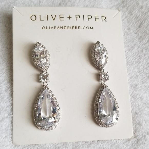3566e2d05 Olive + Piper Jewelry | Olive Piper Drape Earnings | Poshmark